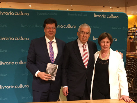 Lançamento Almir Pazzianotto Livraria CULTURA - Editora Anjo
