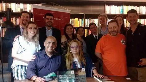 Lançamento Editora Anjo - LIVRARIA DA VILA LORENA - DIREITO NA SOCIEDADE CONTEMPORANEA