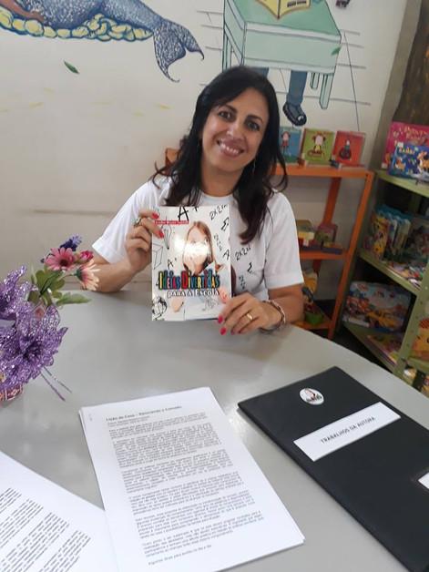 Lançamento Biblioteca Nacional - Sandra Regina Lorandi