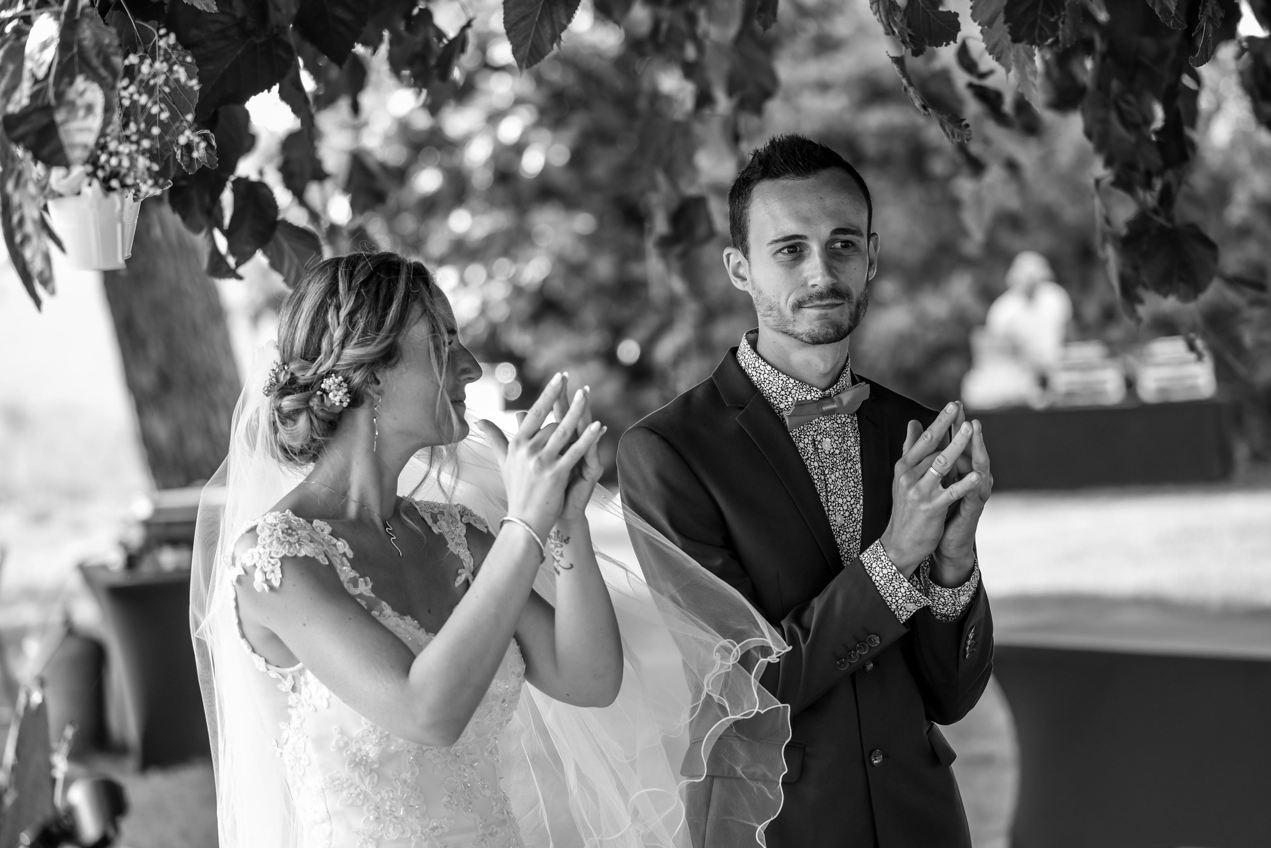 """Se dire """"oui"""" lors d'une cérémonie"""