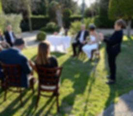 Mariage à l'oustaù de Baumanière