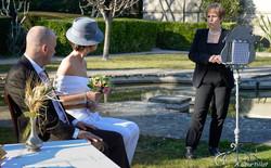 mariés cérémonie laïque provence