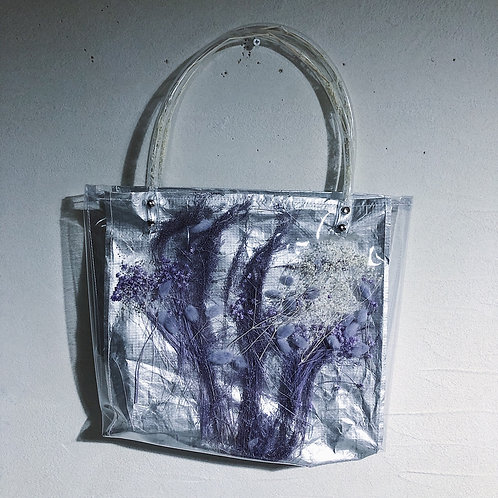 【square】silver-purple・white