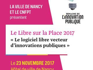 Le libre sur la place le 23 novembre à Nancy