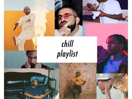 Chill Songs Playlist (Spotify and Apple Music)