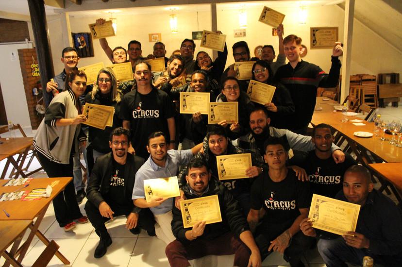 certificado workshop cachaça