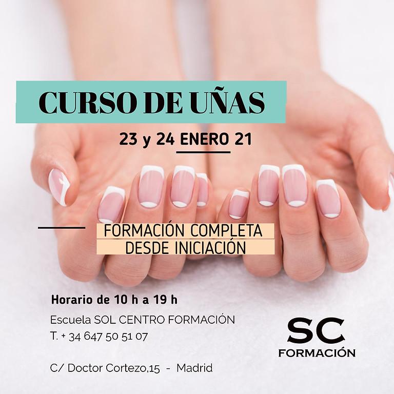 CURSO COMPLETO UÑAS