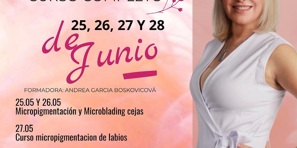 CURSO COMPLETO MICROPIGMENTACIÓN Y MICROBLADING