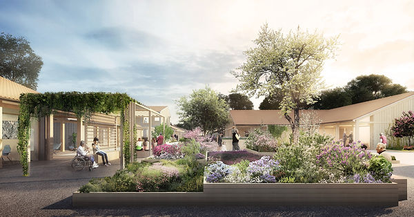 Village Alzheimer DAX Champagnat et Gregoire Architectes