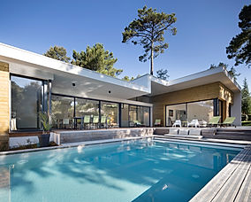 Maison individuelle Shoort Hossegor Nathalie GREGOIRE Architecte