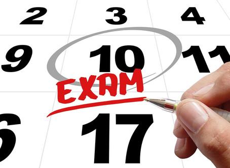 Fall Proficiency Exam Season