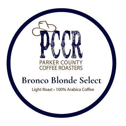 Single Serve Bronco Blonde Select Coffee by PCCR   12ct
