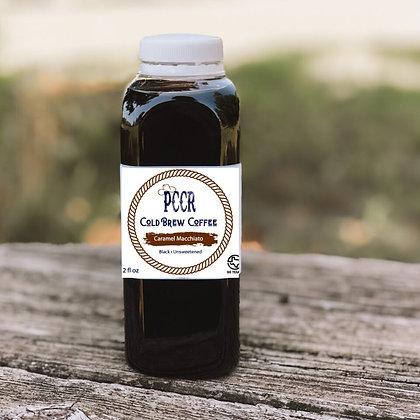 Caramel Macchiato 12oz Cold Brew Coffee by PCCR | 6 pack