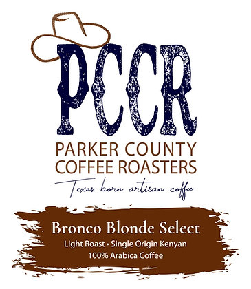 Wholesale Bronco Blonde Select Roast Coffee by PCCR | 1-5lb Bagged Coffee