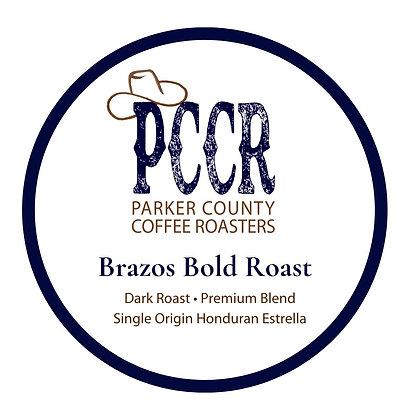 Single Serve Brazos Bold Roast Coffee by PCCR | 12ct