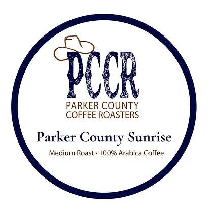 Single Serve Parker County Sunrise Coffee by PCCR | 12ct