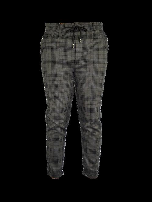 DAER Collection - Pantalone Casual Trama Quadri - Man