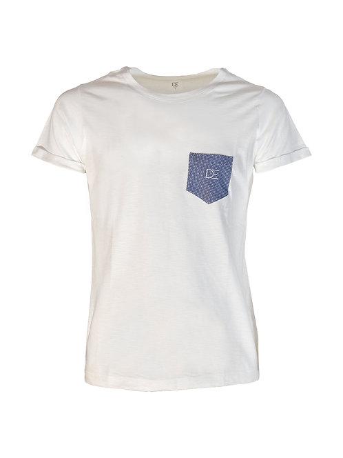Classic White T-shirt DAER - Man