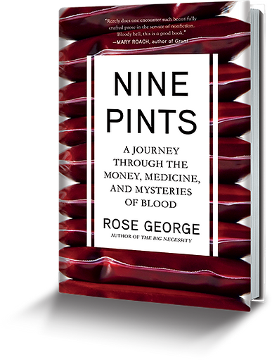 Nine Pints book by Rose George
