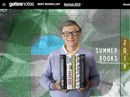 Bill Gates' summer reading recommendations