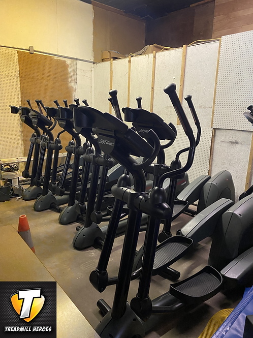 LIFE FITNESS 9500HR Crosstrainers - SEE DETAILS