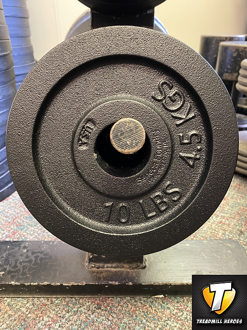 10lb Olympic Plates - Made in Iowa