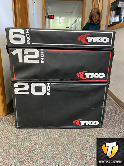 TKO STRENGTH Stackable Plyo Boxes