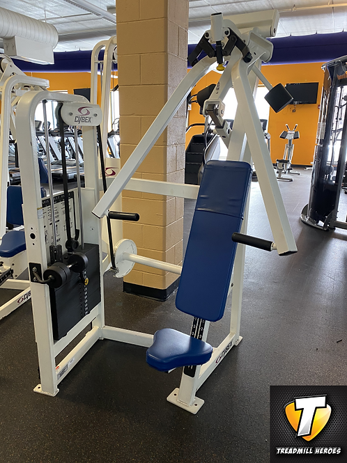 CYBEX Selectorized Dual Axis Chest Press Machine