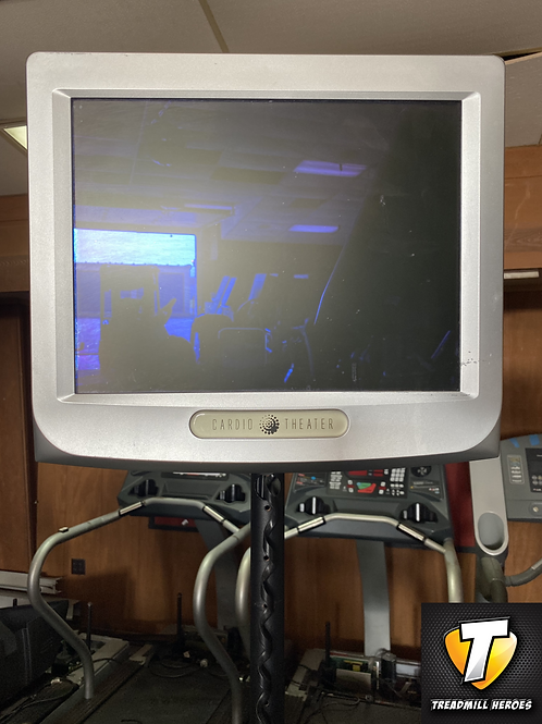 Cardio TV on a stand