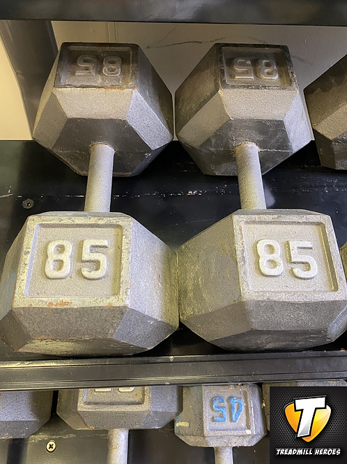 85lb Dumbbell Set
