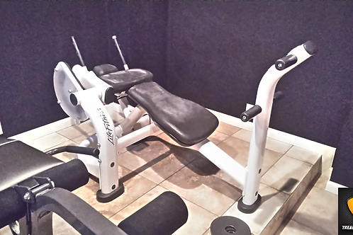 LIFE FITNESS Ab Crunch Bench