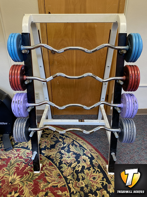 Fixed Barbells and Rack