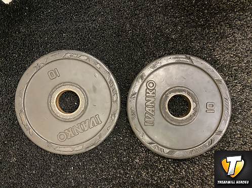 Ivanko 10lb Olympic Plate