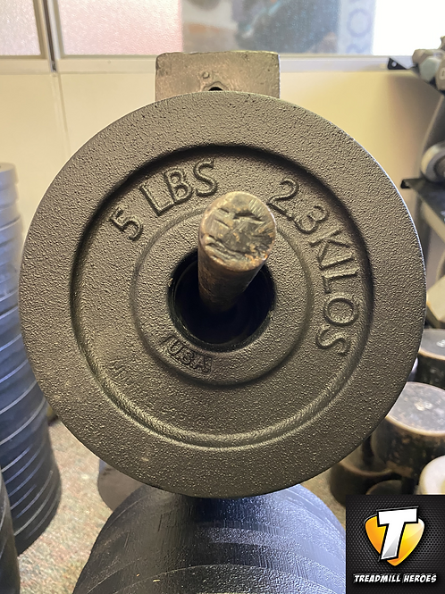 5lb Olympic Plates - Made in Iowa