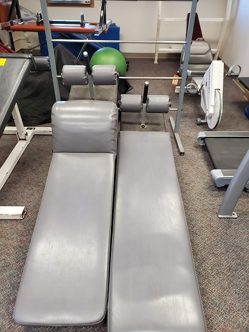 Dual Ab Ladder / Crunch Bench