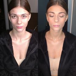 Commercial Photo shoot Makeup