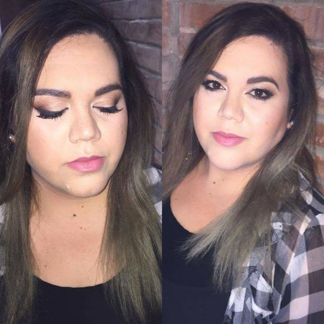 winged liner, girls night out, bold