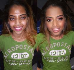 Indian makeup artist, indian makeup
