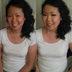 Asian wedding makeup, Bride
