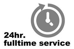 24hr service
