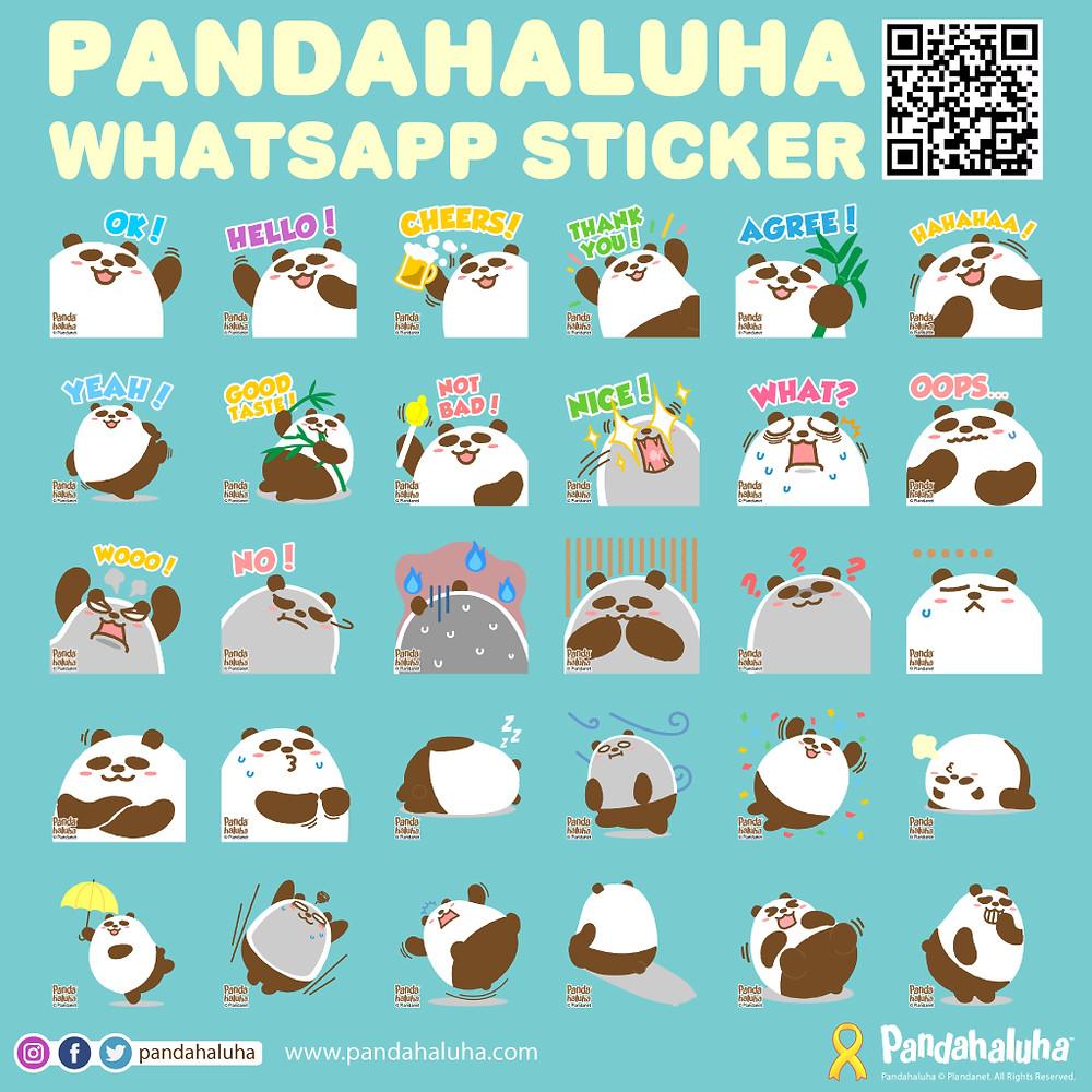 Pandahaluha - Whatsapp Sticker