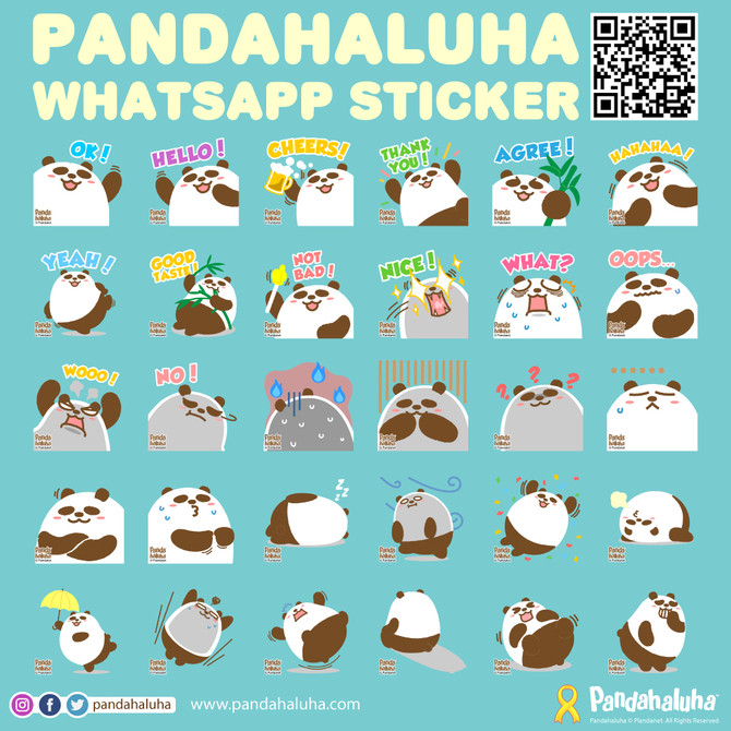 Pandahaluha Whatsapp Sticker