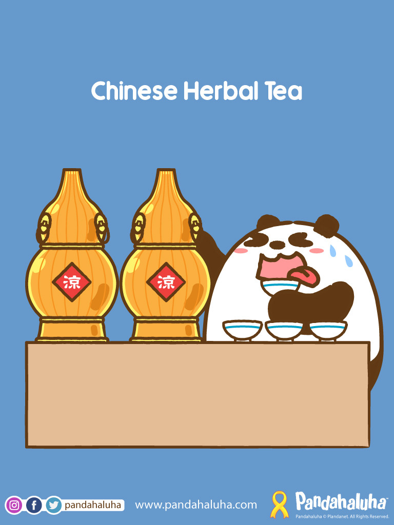 Pandahaluha - Chinese Herbal Tea