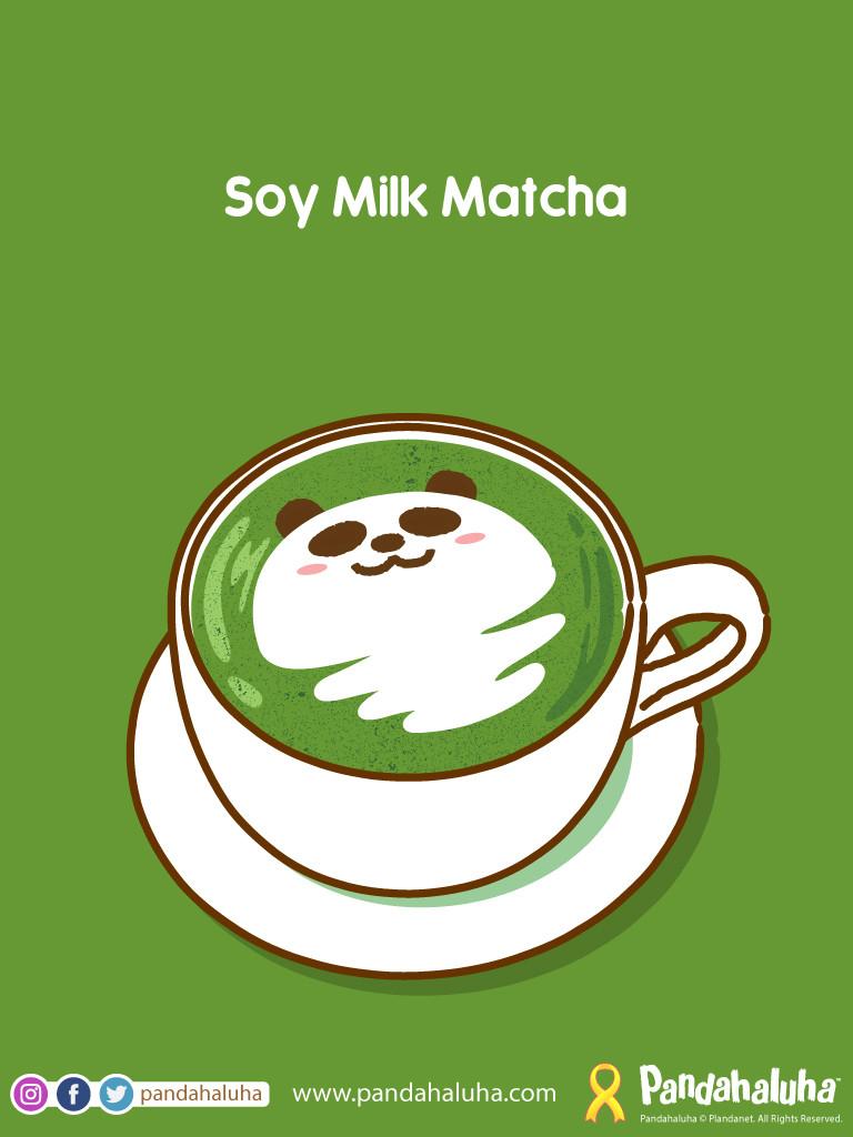 Pandahaluha - Soy Milk Matcha