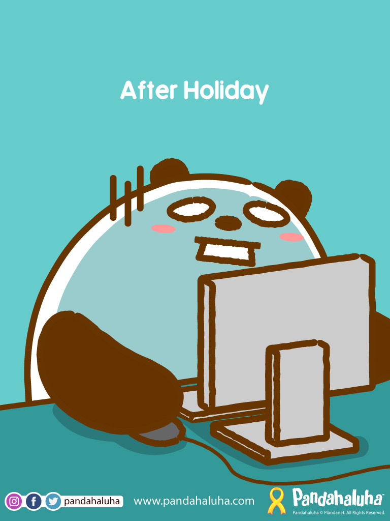 Pandahaluha - After Holiday