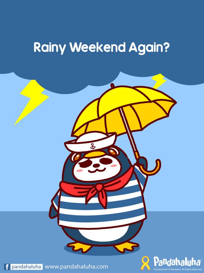 Rainy Weekend Again?