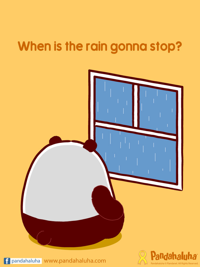 When is the rain gonna stop?