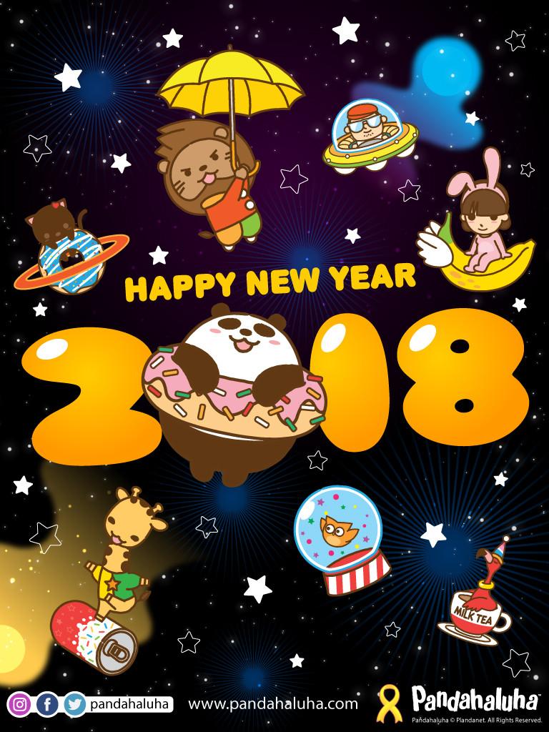 Pandahaluha - Happy 2018
