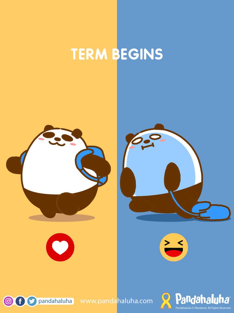 Pandahaluha - Term Begins