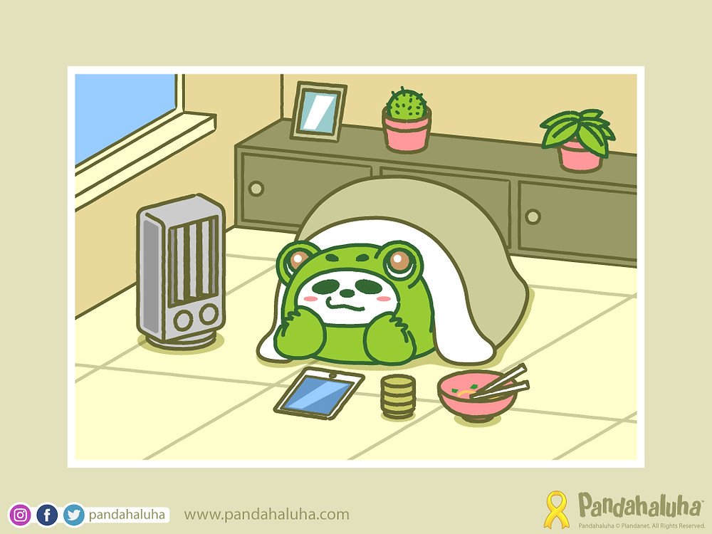 Pandahaluha - Postcard